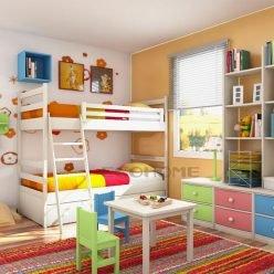 nội thất phòng con trai