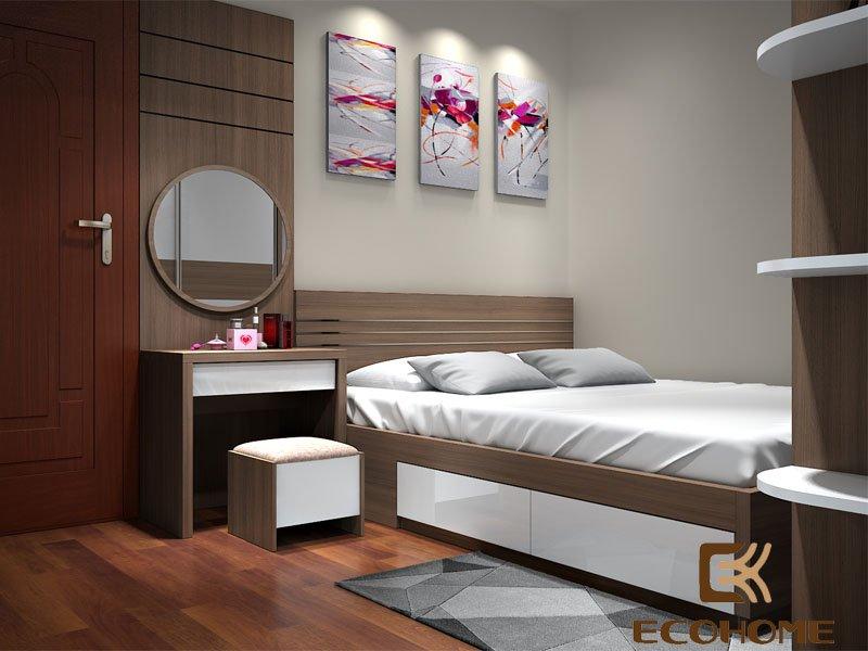 thiết kế giường ngủ đẹp