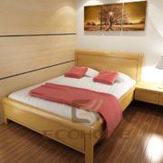giường ngủ gỗ tự nhiên sồi