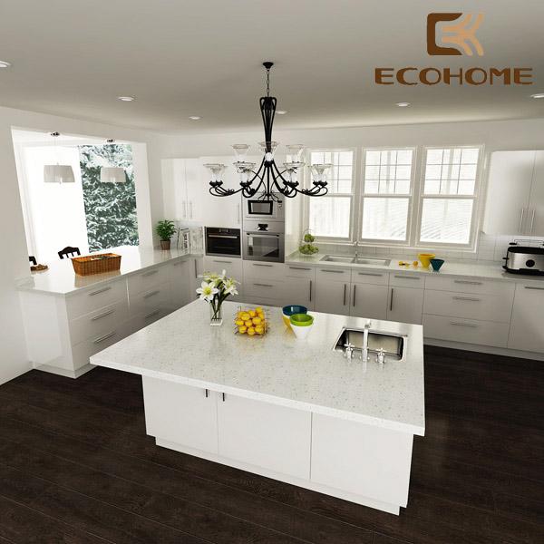 tủ bếp Acrylic Eco