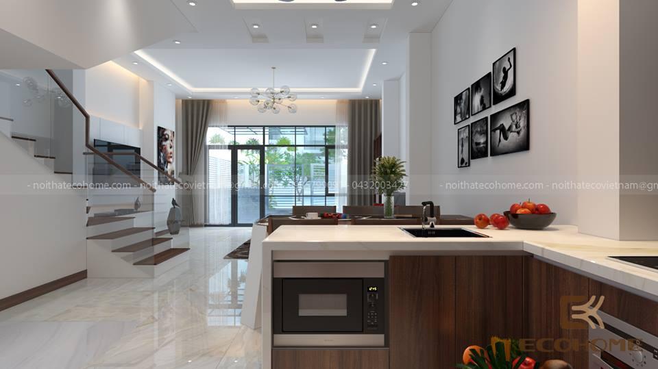 thiết kế nội thất nhà hẹp