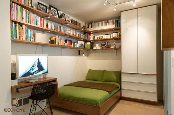 thiết kế phòng ngủ nhỏ 21