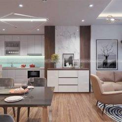 Thiết kế và thi công nội thất chung cư Vinhomes Gardenia