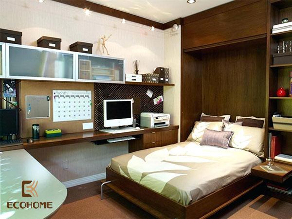 cách bố trí phòng ngủ diện tích nhỏ 12