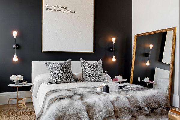 cách bố trí phòng ngủ diện tích nhỏ 15