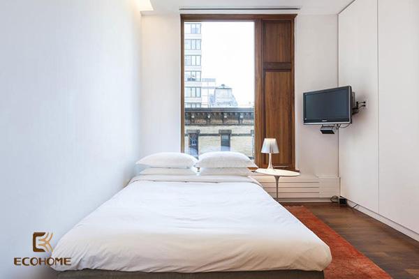 cách bố trí phòng ngủ diện tích nhỏ 2