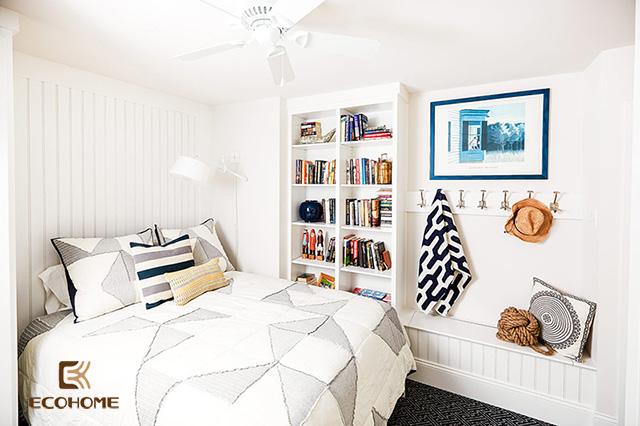 cách bố trí phòng ngủ diện tích nhỏ 4
