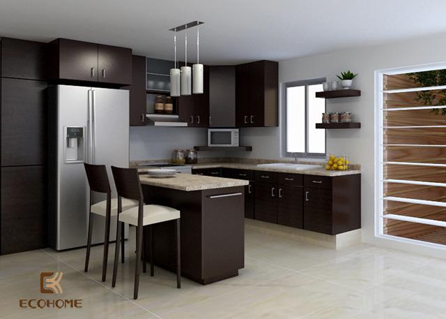 thiết kế bếp nhà cấp 4 (6)