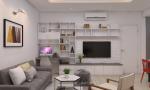 thiết kế nội thất chung cư COWAELMIC