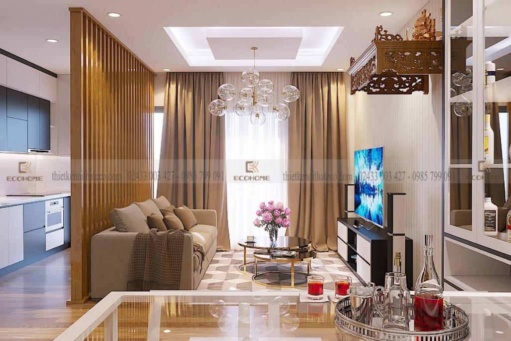 thiết kế nội thất chung cư moon city