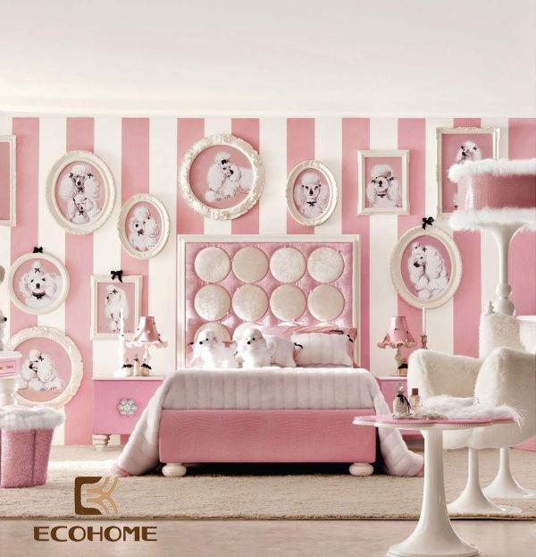phòng ngủ màu hồng cho bé gái (12)