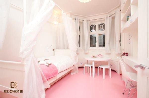phòng ngủ màu hồng cho bé gái (14)