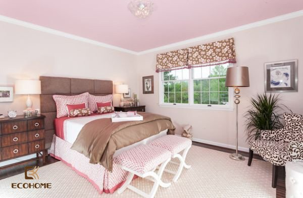 phòng ngủ màu hồng cho bé gái (18)