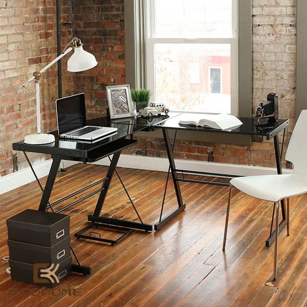 bàn làm việc đơn giản tại nhà 12