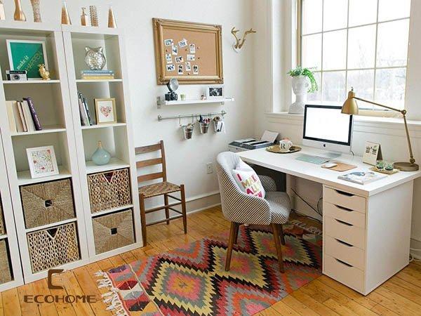 bàn làm việc đơn giản tại nhà 4
