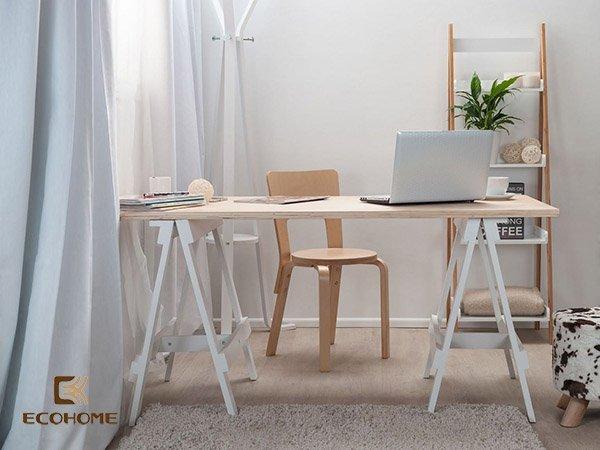 bàn làm việc đơn giản tại nhà 8