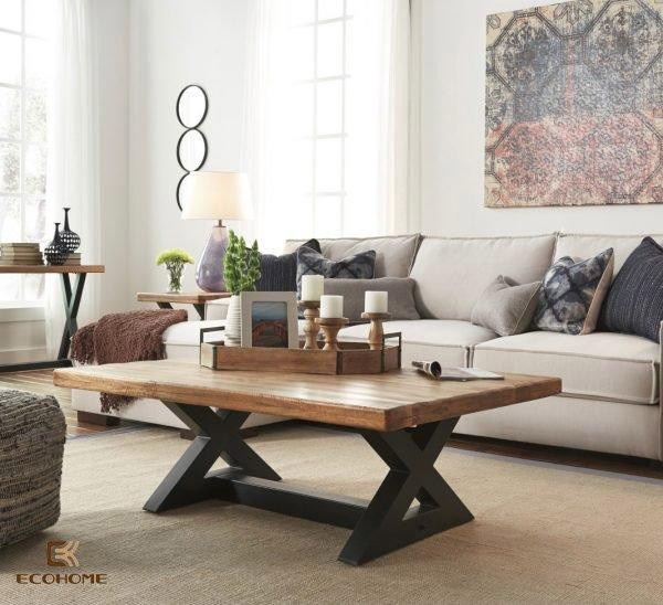 bàn trà phòng khách 12