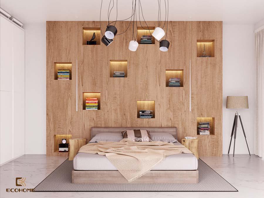 giá sách phòng ngủ 2