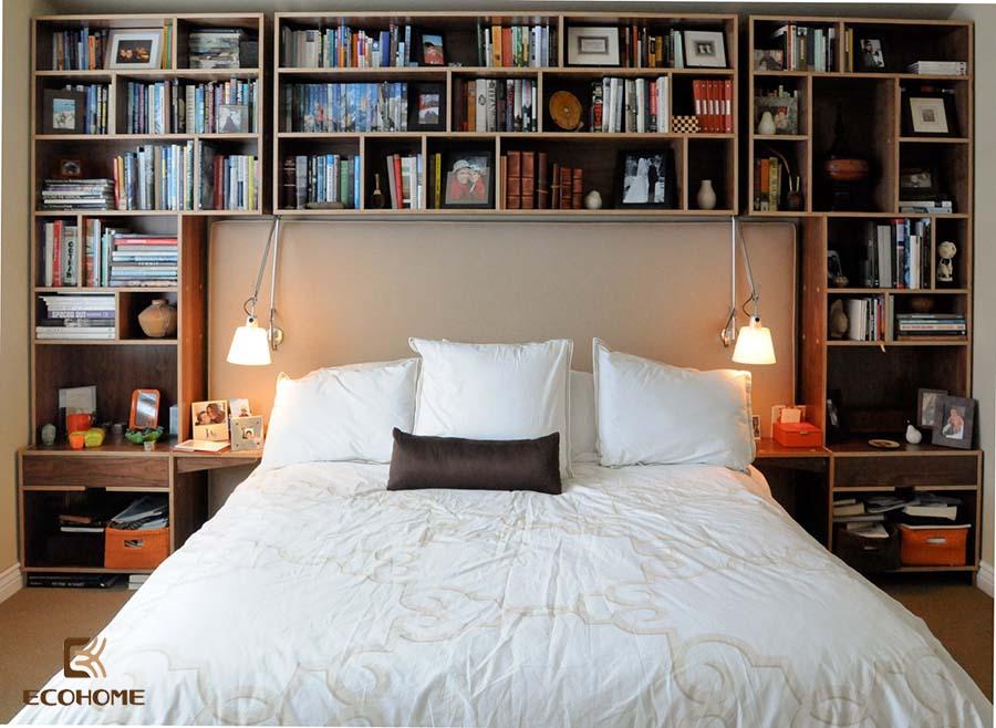 giá sách phòng ngủ 6