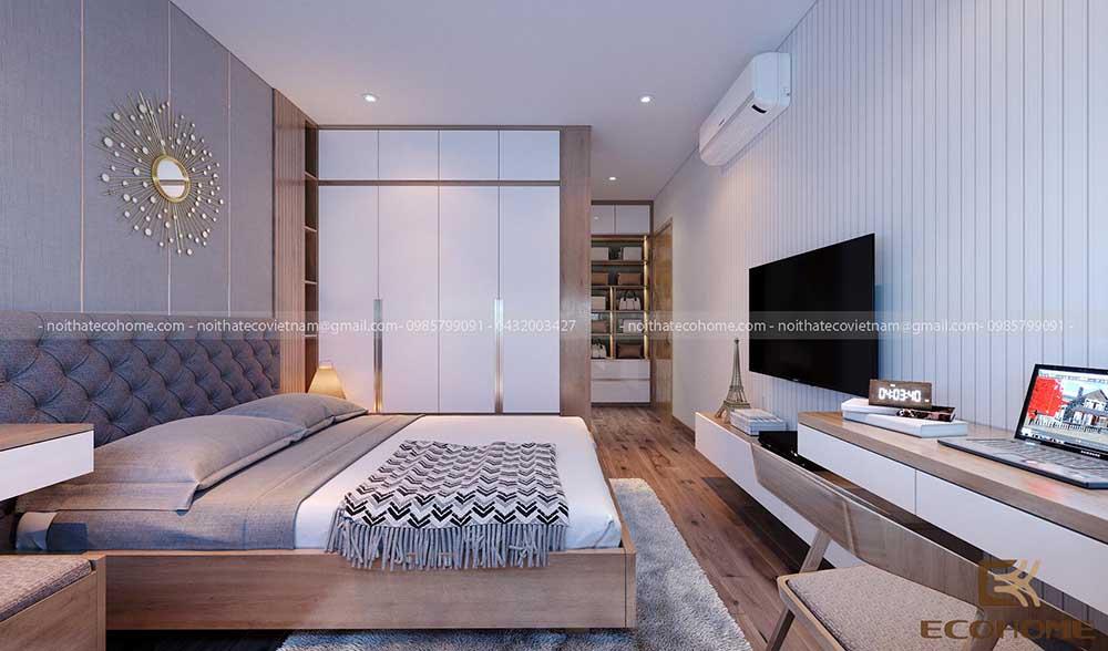 giường ngủ gỗ công nghiệp eco14 3