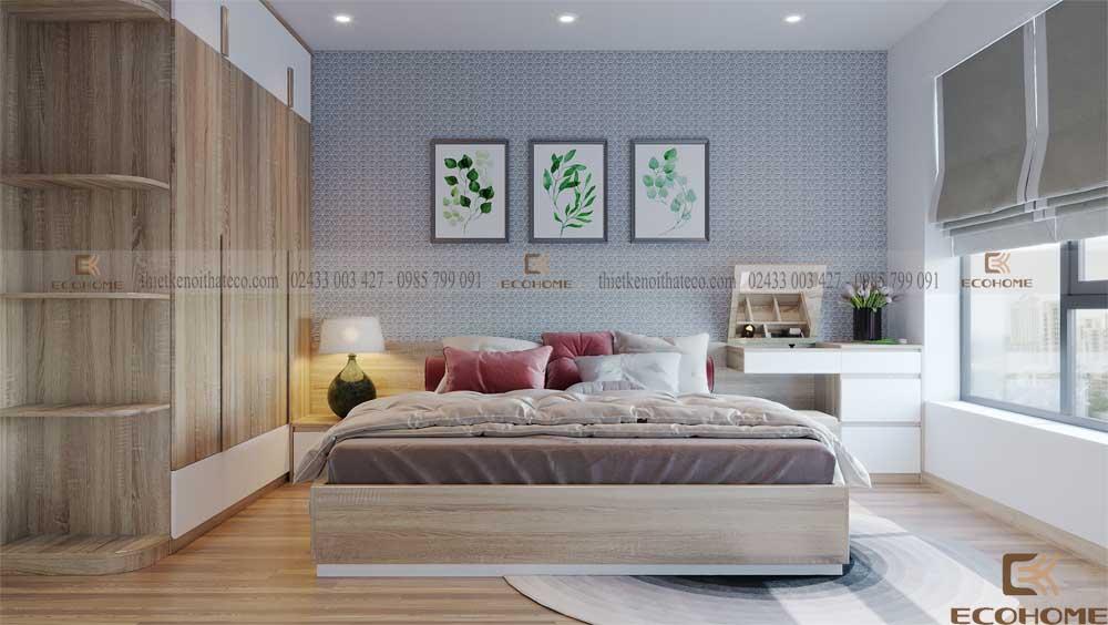 thiết kế nội thất phòng ngủ 9