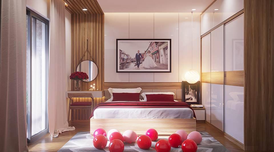 thiết kế nội thất phòng cưới 3