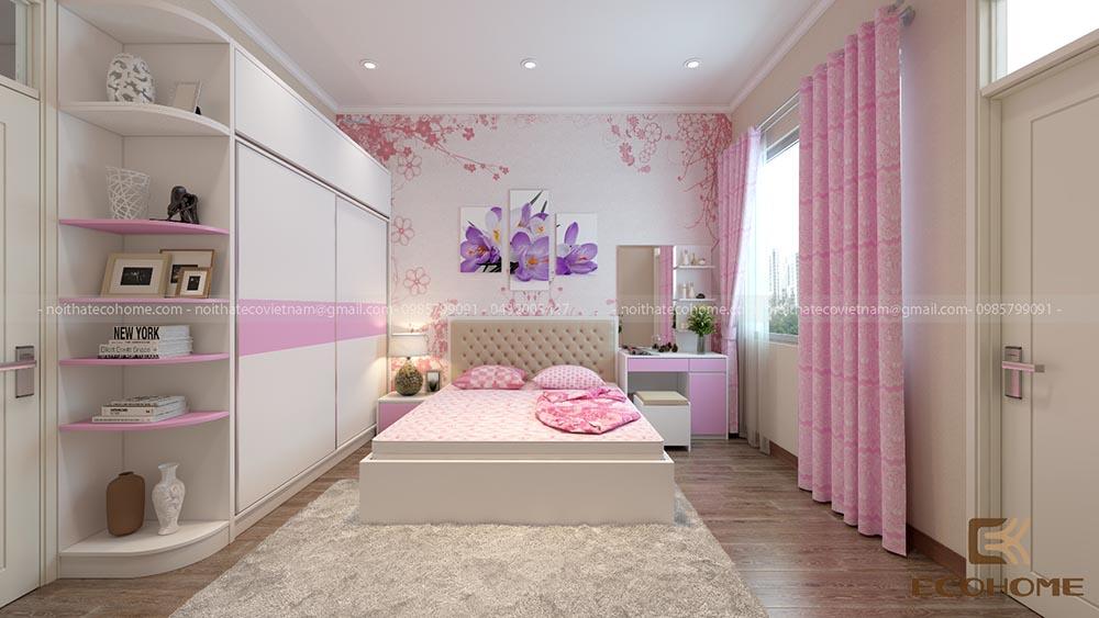 thiết kế nội thất phòng ngủ 13