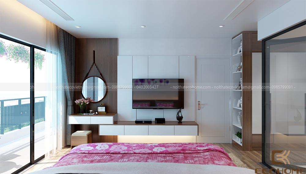 thiết kế nội thất phòng ngủ 16
