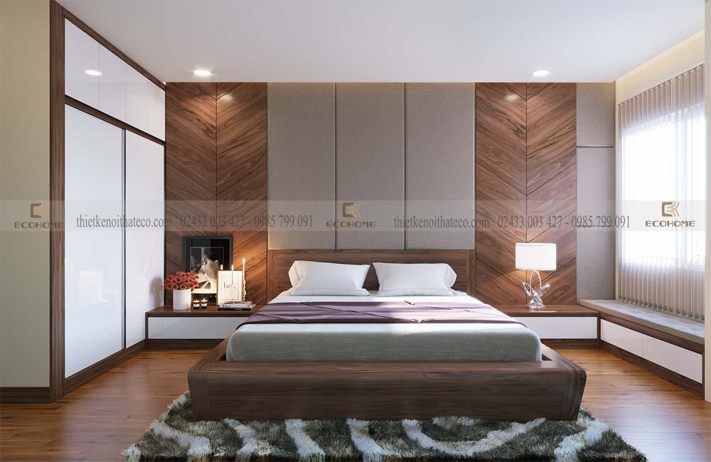 thiết kế nội thất phòng ngủ 19