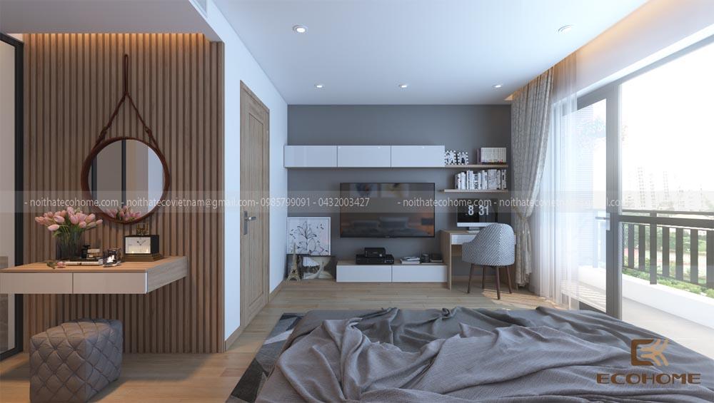 thiết kế nội thất phòng ngủ 25