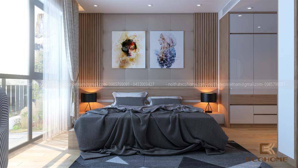 thiết kế nội thất phòng ngủ 27