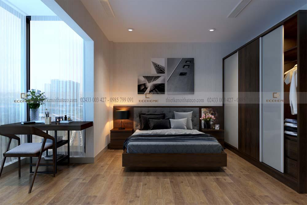 thiết kế nội thất phòng ngủ 28