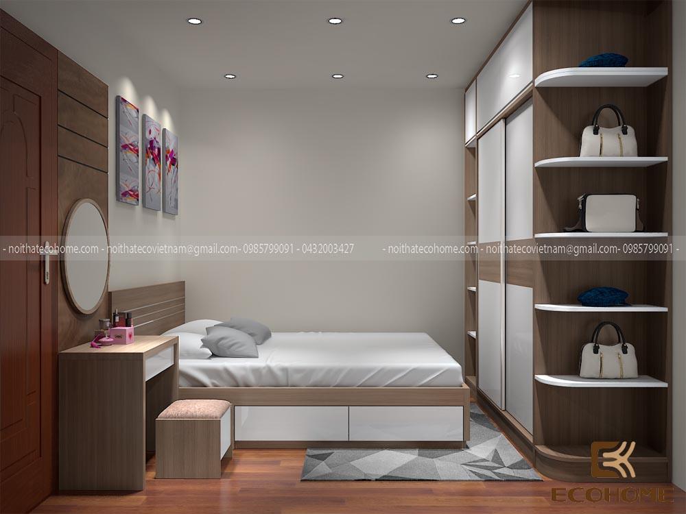 thiết kế nội thất phòng ngủ 31
