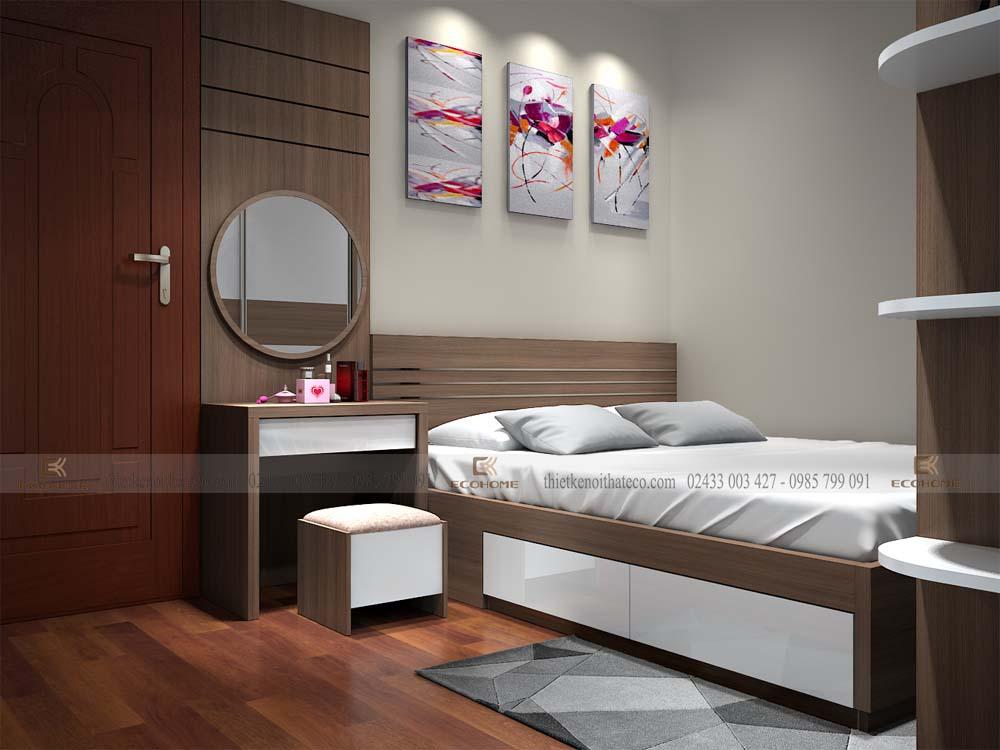 thiết kế nội thất phòng ngủ 32