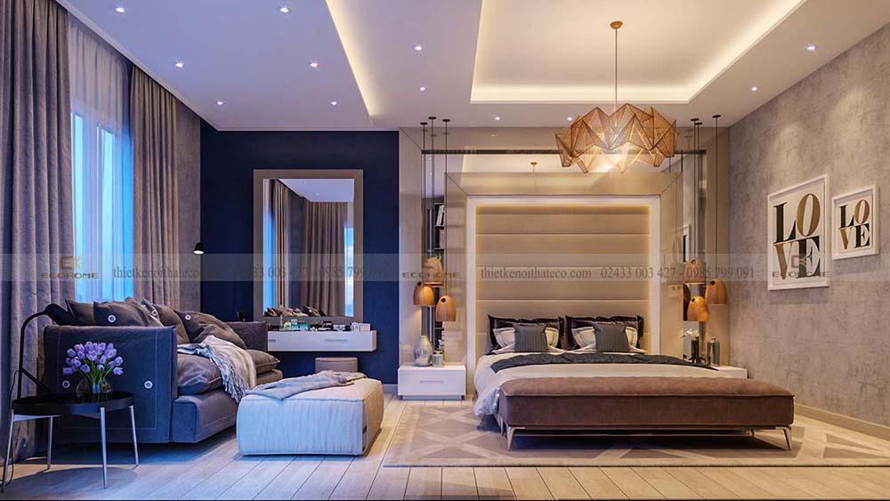 thiết kế nội thất phòng ngủ 39