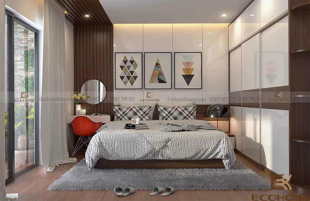 thiết kế nội thất phòng ngủ 6