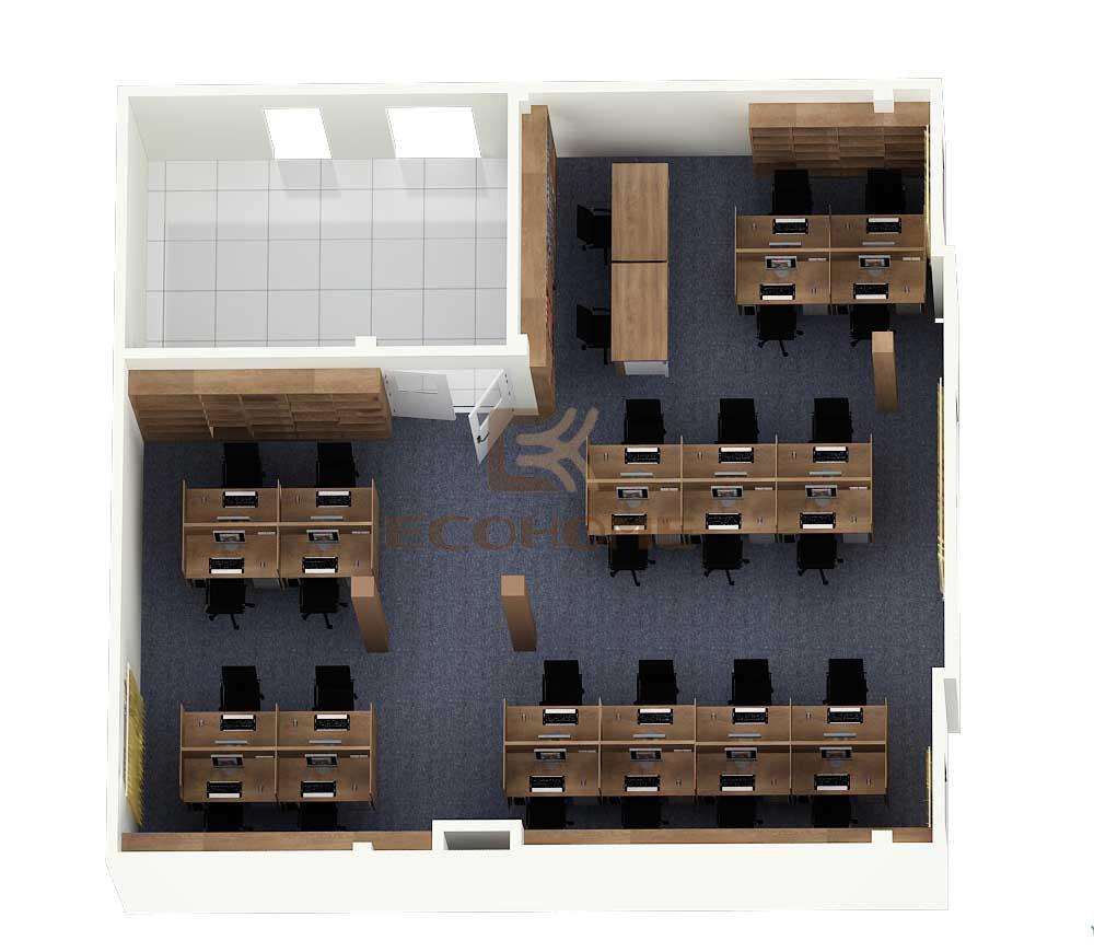 thiết kế nội thất văn phòng công ty cổ phần đầu tư vĩnh cát 13