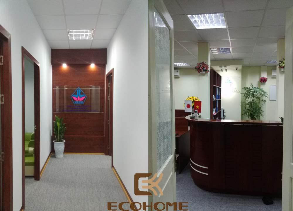 thiết kế nội thất văn phòng công ty cổ phần đầu tư vĩnh cát 5