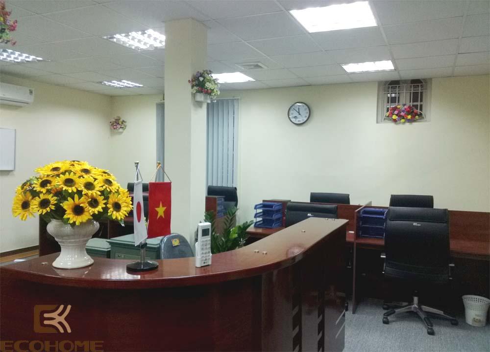 thiết kế nội thất văn phòng công ty cổ phần đầu tư vĩnh cát 7