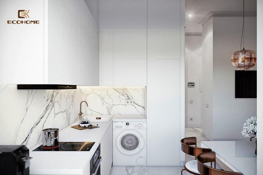 thiết kế tủ bếp chữ L 23