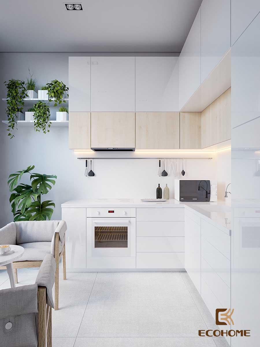 thiết kế tủ bếp chữ L 26