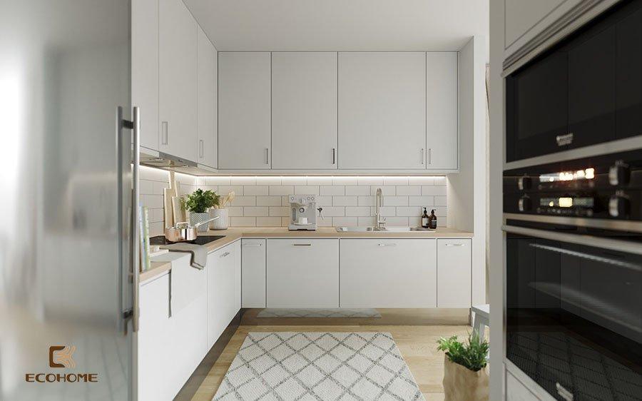 thiết kế tủ bếp chữ L 27