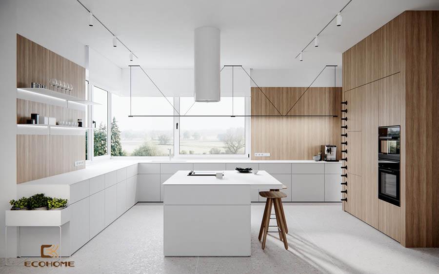 thiết kế tủ bếp chữ L 36