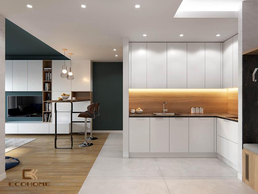 thiết kế tủ bếp chữ L 39