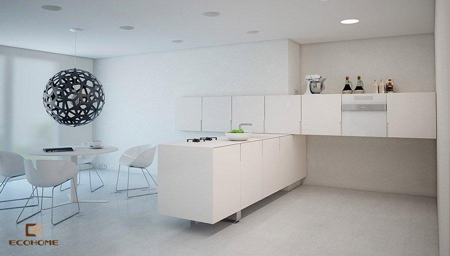 thiết kế tủ bếp chữ L 43