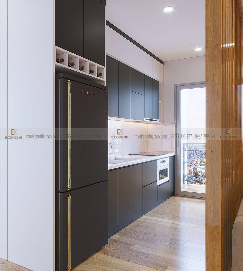 tủ bếp gỗ công nghiệp ECO37
