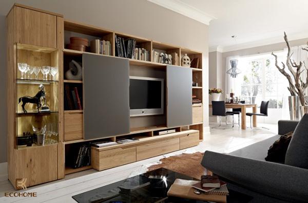 kệ tivi trang trí phòng khách 4
