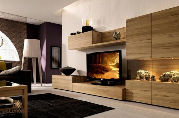 kệ tivi trang trí phòng khách 5