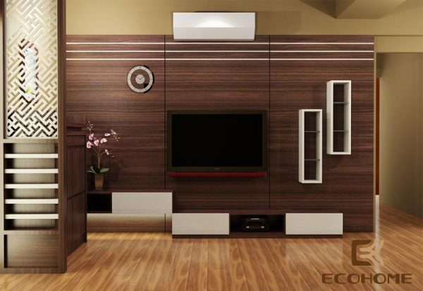 kệ vách tivi phòng khách ECO33 (1)