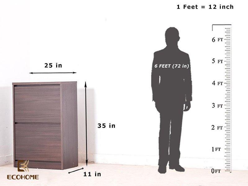 kích thước tủ giày 1